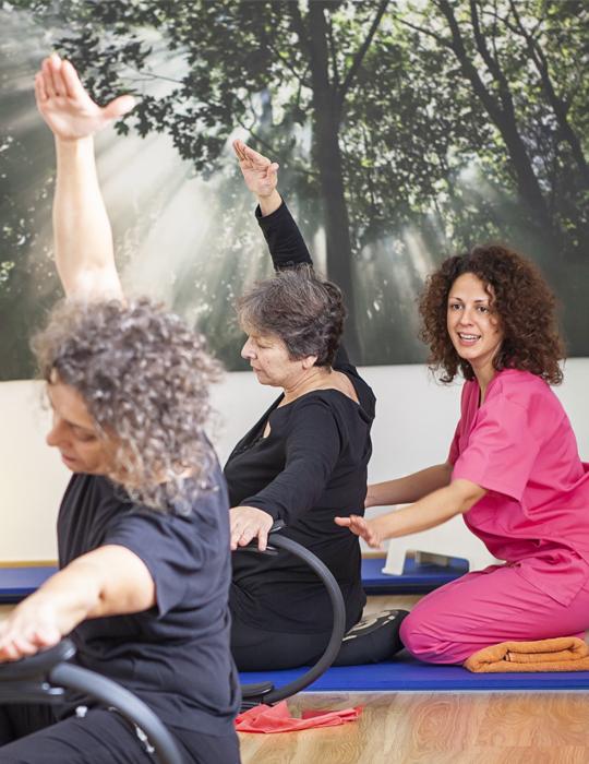 terapia Pilates terapeutico